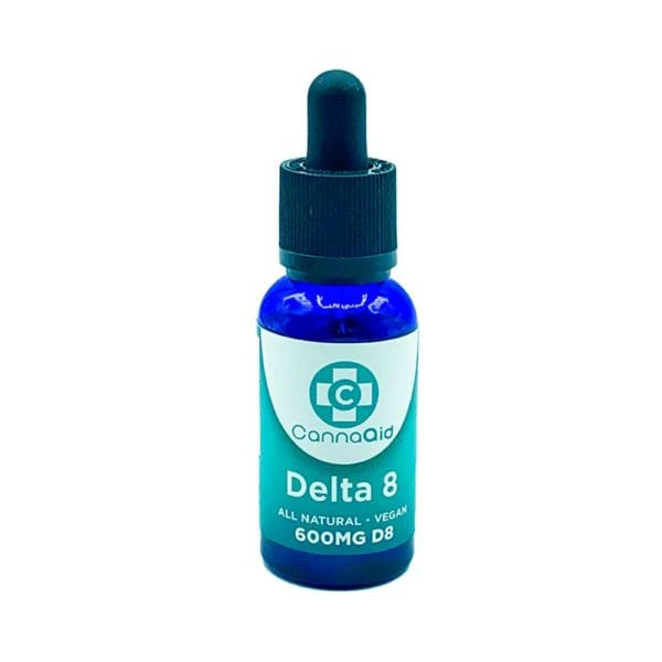 CannaAid Delta 8 Tincture Oil 600mg