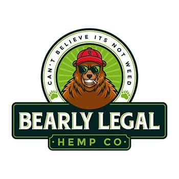Bearly Legal Hemp Co Logo