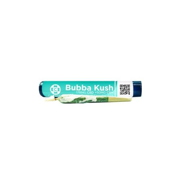 CannaAid Delta 8 THC PreRoll - Bubba Kush 100mg
