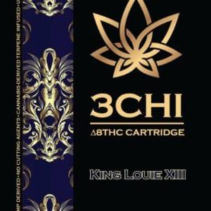 3Chi Delta 8 THC Vape Cartridge - King Louis XIII 1ml