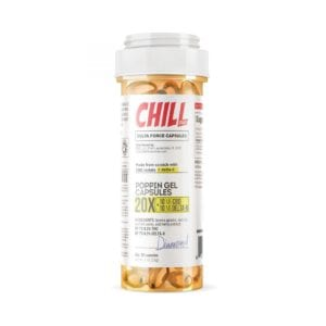 Chill Plus Delta 8 Poppin Gel Capsules - 10mg 20 Count