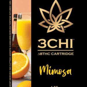 3Chi Delta 8 THC Vape Cartridge - Mimosa 1ml