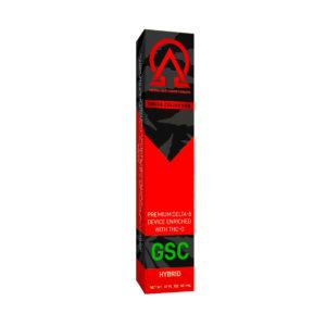 Delta Effex Delta 8 Disposable Vape with THC-O - GSC 1G