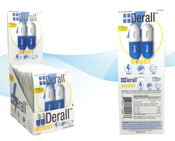 Derall Boost - Nutraceutical Brain-Booster 2 Count