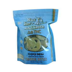 Not Ya Sons Weed Cookie Bites 50mg 12 Count