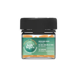 High Hopes Delta 8 Gummies - Totally Tropical 50mg 10 Count